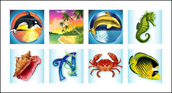 free Ocean Dreams slot game symbols