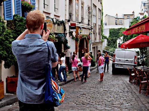 Recorridos en Montmartre