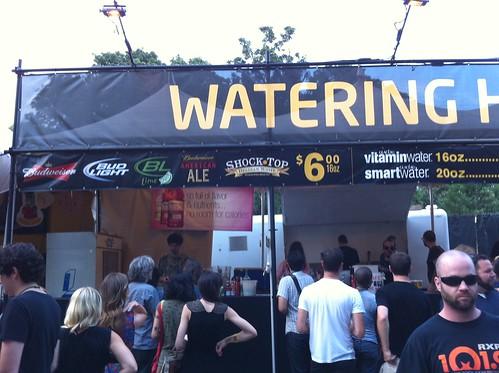 No Brooklyn Lager at Celebrate Brooklyn #craftbeerfail @beerwars