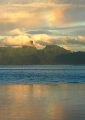 Rainbow In The Morning (outdoorPDK) Tags: rainbow tahiti moorea zeroedgepool