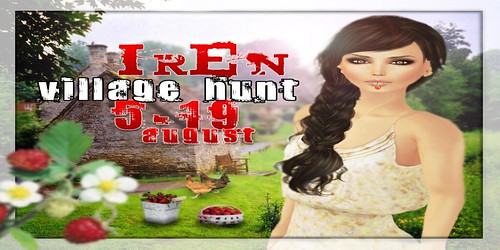 Iren village hunt_poster