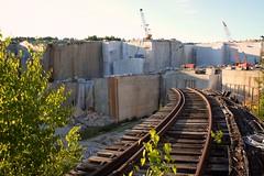 (s.curran) Tags: rotting train massachusetts tracks explore exploration quary westford