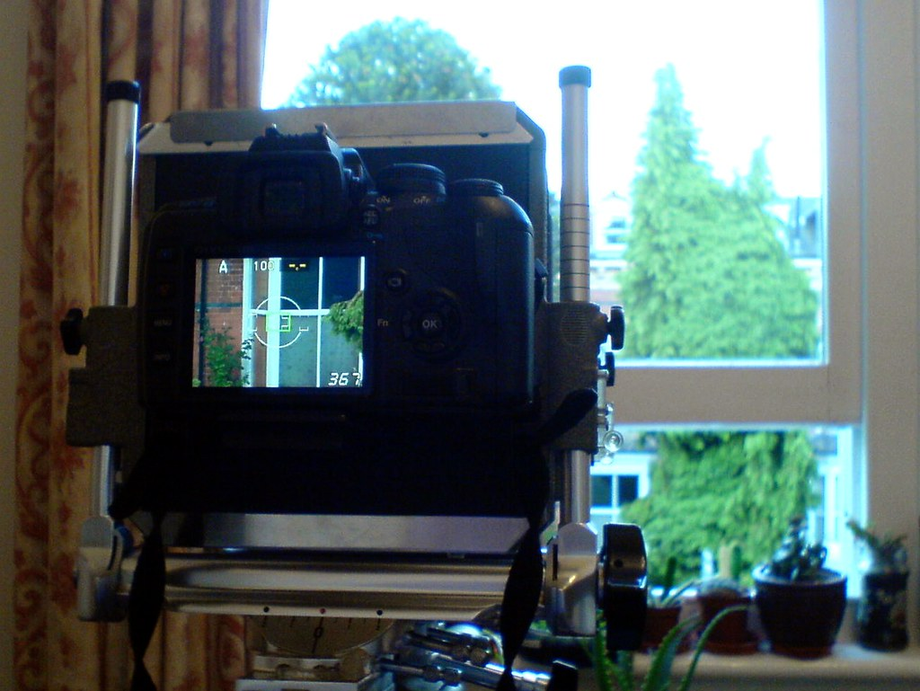 Olympus DSLR as digital back for Sinar (2)