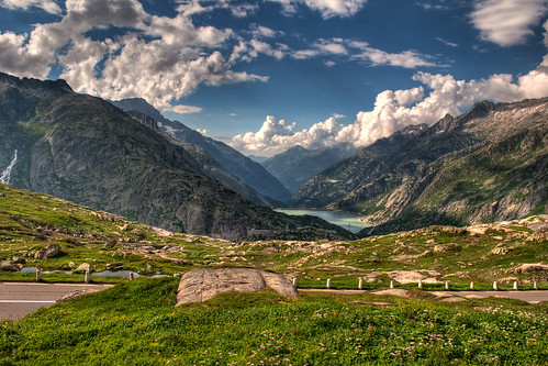 Grimselpass, The Alps