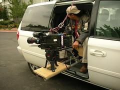 Poor Man's Camera Car (FilmCrewTech) Tags: newmexico gaffer grip filmproduction rigging tvproduction cameracar keygrip camerarigging allinonetruck kellyherrin filmcrewtech