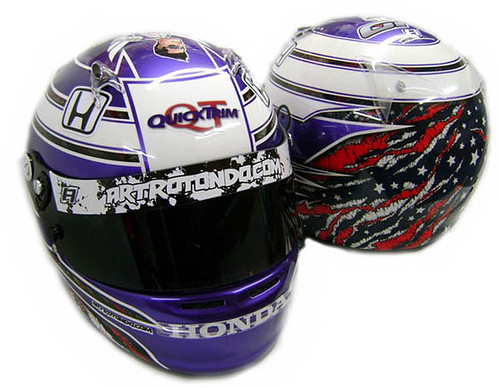 Rahal's Sonoma Helmet