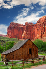 Old Barn Near Fruita at Capitol Reef National Park, Utah (D200-PAUL) Tags: utah nationalpark capitolreef capitolreefnationalpark fruita oldbarn barnold aboveandbeyondlevel4 aboveandbeyondlevel1 aboveandbeyondlevel2 aboveandbeyondlevel3