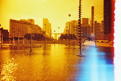 View to La Defence (25ThC) Tags: camera film analog 35mm lomo lomography slim wide 100 analogue filmcamera viv vivitar ultra analoguecamera redscale vivitarultrawideandslim redscaled vivitaruws vivuws lomoredscale100 lomoredscale 25thc