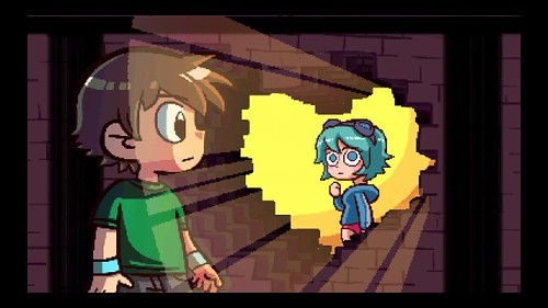 The Drop: Scott Pilgrim vs The World: The Game