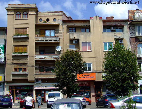 Art Deco in Ploiesti - Blocuri pe strada Emile Zola