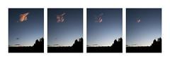 The vanishing (frank_bunnik) Tags: sunset sky italy panorama cloud mountain clouds wolken panoramic bergen lucht goldensunset dolomites goldenhour alpenglow dolomieten spectacularclouds copyrightfrankbunnik