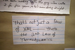 On XML and thermodynamics