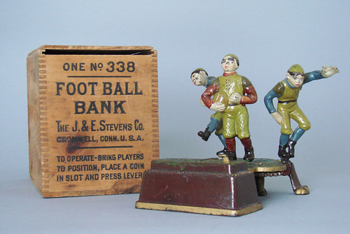 Mechanical Football Bank
