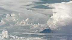 Mt. Fuji&clouds (beeldmark) Tags: mountain mountains berg japan clouds landscape japanese fromabove fujisan bergen  mtfuji japonais landschap cumulonimbus japans airplaneview japanisch beeldmark