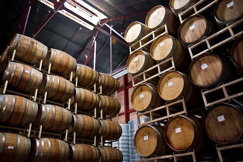 Stacked Barrels