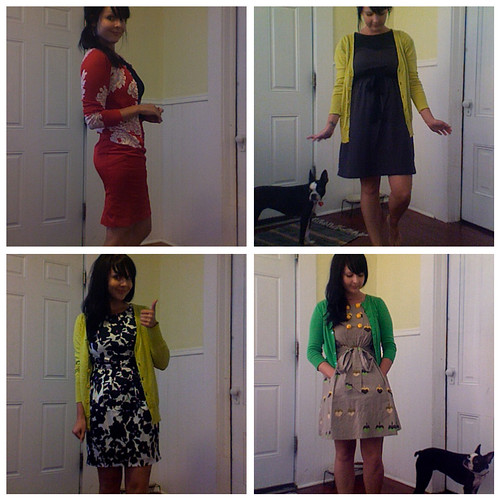 my teaching outfits from exactly one year ago...so much has changed in a year!
