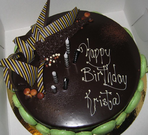 Mmmmm, mousse cake!