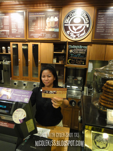 coffee bean voucher