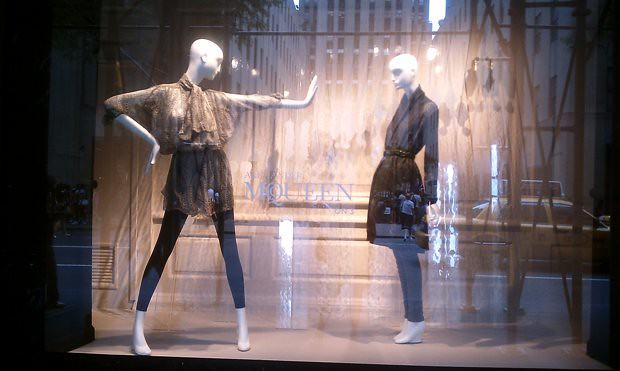 Saks McQueen Window