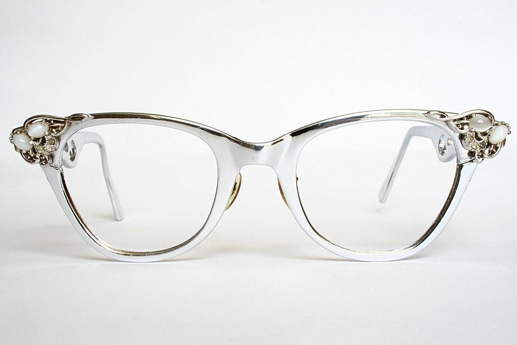 50e8329c852 Aluminum Stylrite Vintage Cat Eye Glasses (Vintage Cat Eye Glasses) Tags  sunglasses  vintage