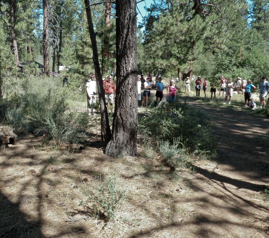 Near The Finish Line - 2010 Haulin' Aspen Trail Marathon and 1/2 Marathon