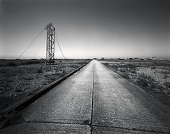 Slant (Spkennedy3000 - Architectural Photographer) Tags: kent wide dungeness f56 58mm xl ilford fp4 schneider cambo 580 superangulon