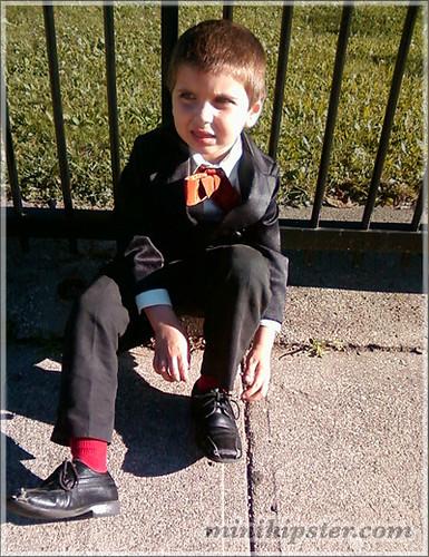 Owen. MiniHipster.com: children's childrens clothing trends, kids street fashion, kidswear lookbook