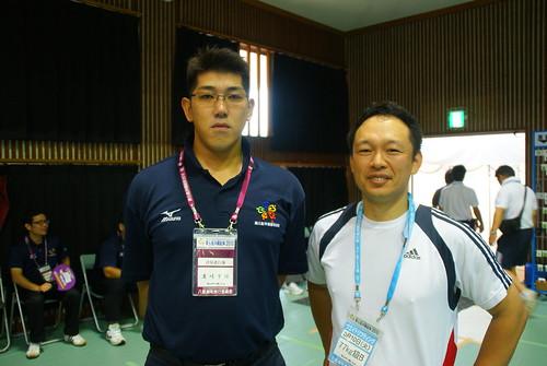 岩崎選手はお元気でした。