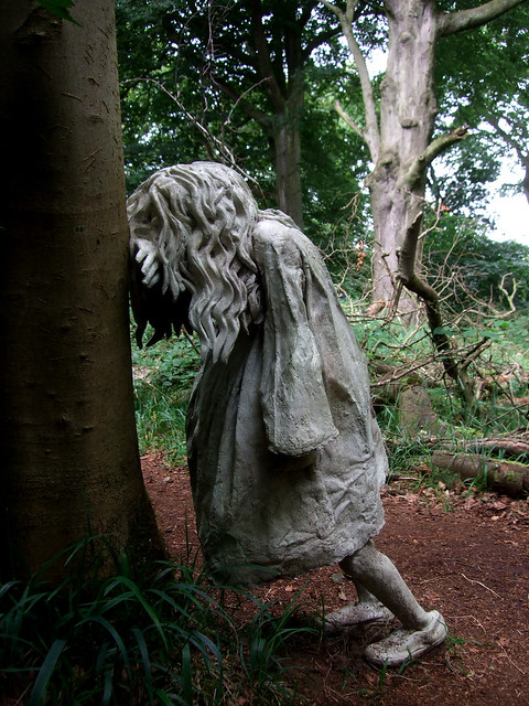 Weeping Girl - Laura Ford
