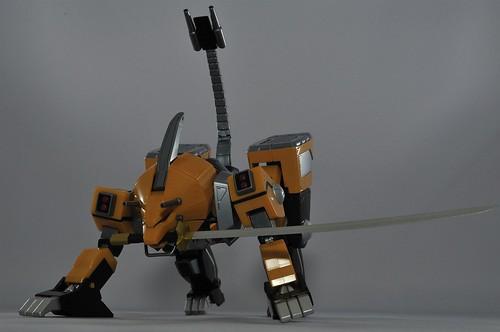 獣魔忍者刀装備