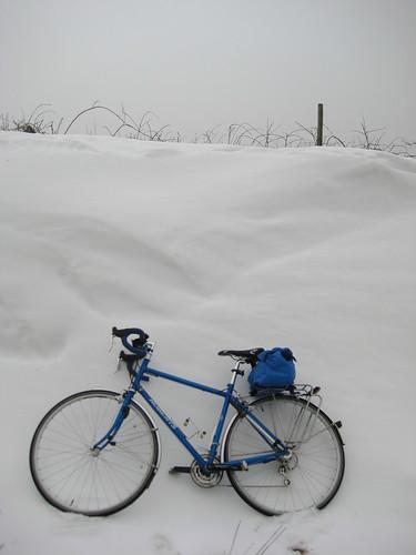 Snowy bike 003