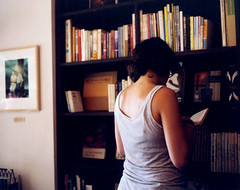 the reader (mika-rin) Tags: mediumformat cafe friend 6x7 tine mamiya7  tegamisha