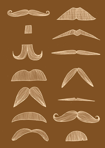 Moustache Love Chart
