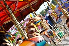 Colorful Horses (12Jeepgirl~Never look back...) Tags: horse nikon midwest ride statefair carousel fair iowa midway merrygoround 2010 desmoines d300 iowastatefair