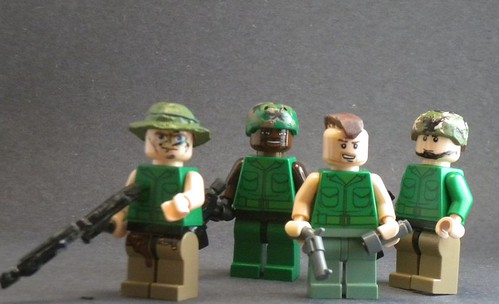 'Nam Soldier custom minifigs