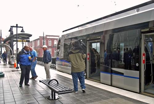 Charlotte LYNX light rail (courtesy of Payton Chung)