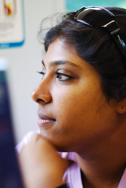Devika Raman, enroute to Flatholm