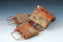 Copper Splash Bracelet