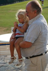 Violet And Her Grandfather (Joe Shlabotnik) Tags: violet 2010 verne wstc august2010