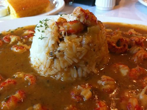Crayfish Étouffée from Praline Cafe