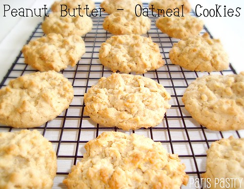 Peanut Butter - Oatmeal Cookies