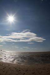 Damp Beach (Fairy_Nuff (new website - piczology.com!)) Tags: sky cloud beach canon eos place 7d another antony gormley crosby