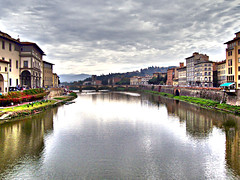 firenze (StefanoP.) Tags: houses italy panorama water river italia fiume panoramic case firenze acqua hdr impressedbeauty hdraward