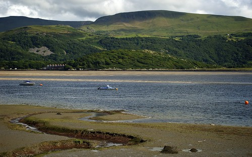 Boats on the Mawddach