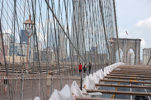 Brooklyn Bridge Cabeling