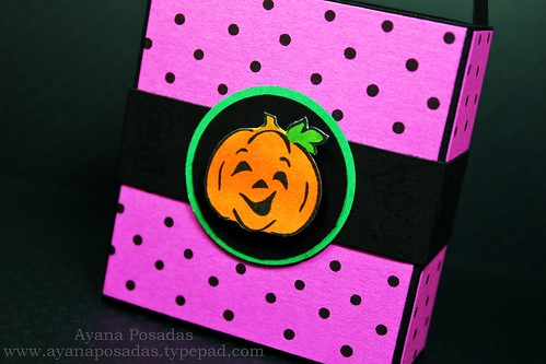 Halloween Polka-Dot Treat Bags (7)