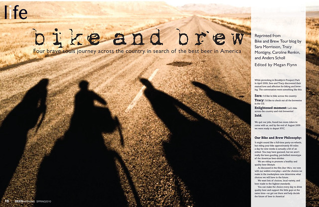Beer NW Bike and Brew article 1