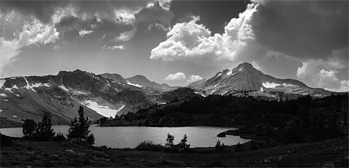 Building Storm, 20 Lakes Basin