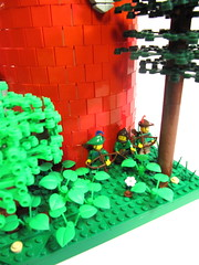 Forest Outpost (vdubguy67') Tags: tower castle forest fan lego adult fort space alabama battle medieval creation pirate knight mecha siege outpost moc afol