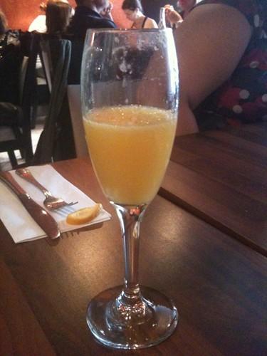 Mimosa at La Cantine